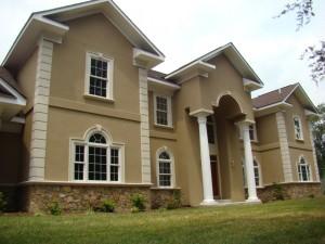 Stucco materials