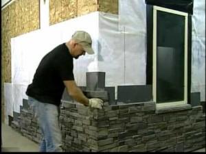 Installing Stone Siding