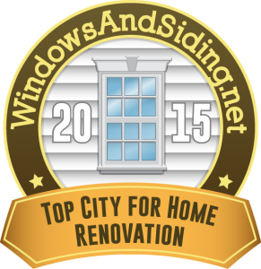 WindowsAndSiding.net -Top City for Home Renovation