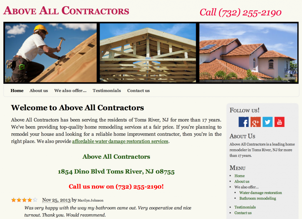 Above All Contractors