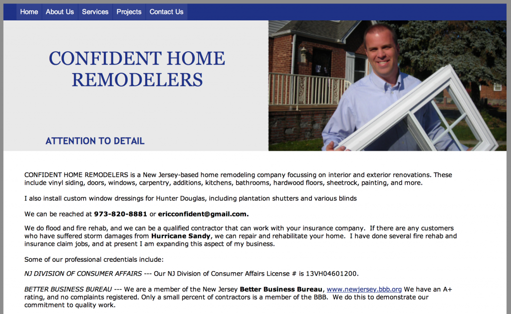 Confident Home Remodelers
