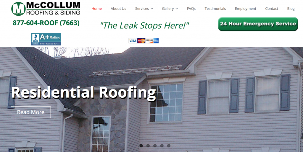 McCollum Roofing & Siding