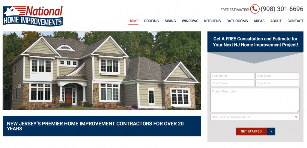siding contractor union county nj
