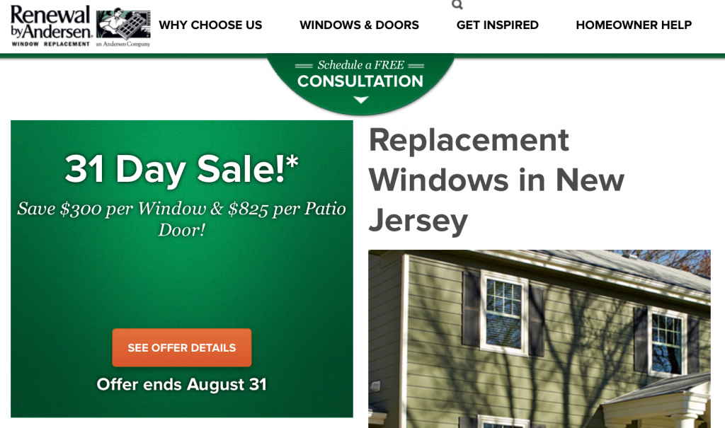 Renewal by Andersen of Central & North Jersey