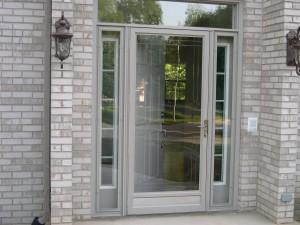 Front Doors With Storm Door what type of entry door can be used with a storm door?
