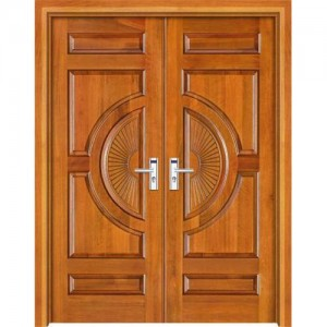 what types of wood are doors made from