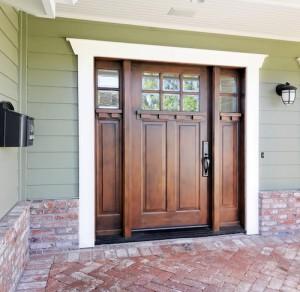 Stain a Front Door