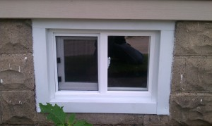 Replace a Basement Window