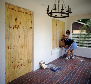 Hurricane Protection for Door