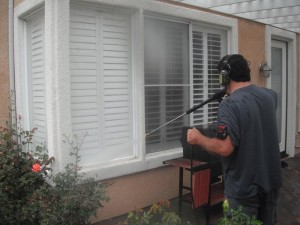 Pressure Washing Windows