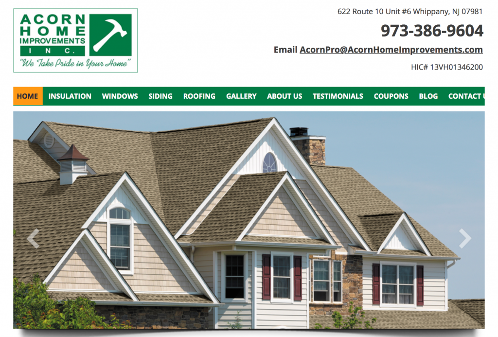 siding contractor morris county NJ