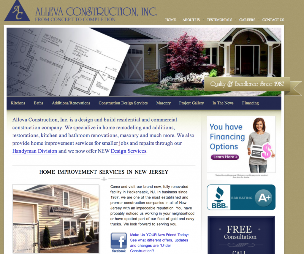 Alleva Construction Inc.