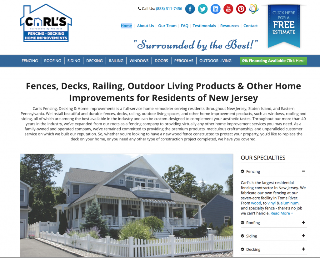 Carl's Fencing, Decking & Home Improvement