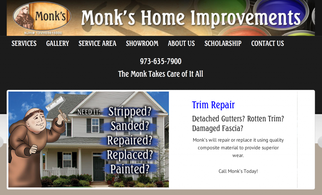 Monk's Home Improvements