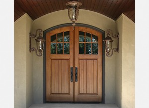 Exterior Door Finish