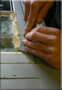 Glazing a Window